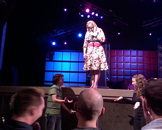 Lisa Lampanelli - Lampanelli performing in 2008