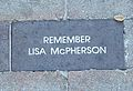 Lisa McPherson brick 2005 restored.jpg