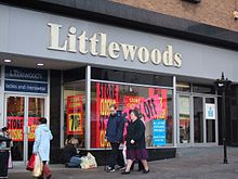 A former Littlewoods branch in Chesterfield