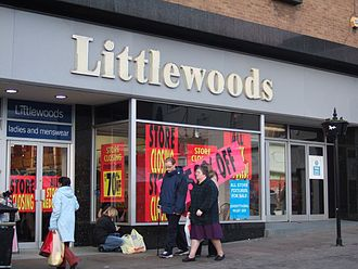 Littlewoods - A former Littlewoods branch in Chesterfield