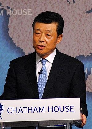 Liu Xiaoming - Image: Liu Xiaoming, Ambassador of the Peoples Republic of China to the UK