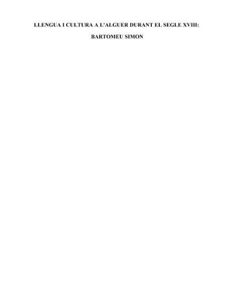 File:Llengua i cultura a l'Alguer durant el segle XVIII- Bartomeu Simon (1996).djvu
