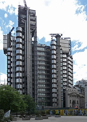 Lloyd's building - Lloyd's building in 2011