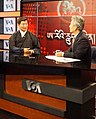 Lobsang Sangay detail, from- Exiled Tibetan elected leader, Dr. Lobsang Sangay on the set of VOA Kunleng on Wednesday, May 24, 2017 (cropped).jpg