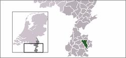 Lage von Heerlen in den Niederlanden