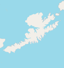 Makushin Volcano is located in Unalaska