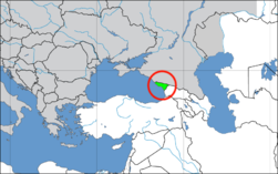 Loko de Abĥazio en Europe2.png
