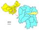 La préfecture de Changsha dans la province du Hunan