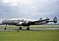 Lockheed L749A G-ANUR Skyways Ringway 11.08.63.jpg