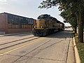 Locomotive Reflections & Running Light to Loves Park-Madison Street-Rockford IL.jpg