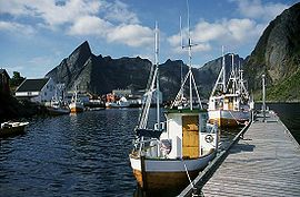 Hafen von Hamn�y
