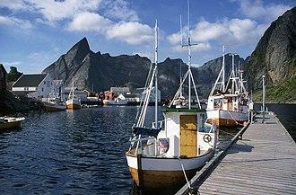 Moskenesøya - Image: Lofoten Hamnoy
