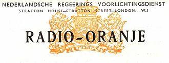 Radio Oranje - Logo