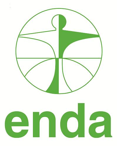 Le logo officiel d'Enda t-m