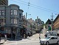 Lombard Street, at Columbus Avenue and Jansen Street, San Francisco (April 2012).jpg