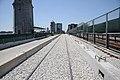 Longfellow Bridge temporary inbound shoo-fly track, June 2016.jpg