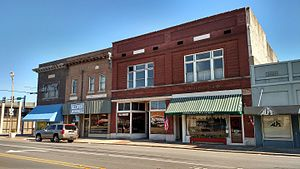 Lonoke, Arkansas - Downtown Lonoke, 2015
