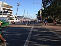 Looking down Olympic Boulevard during the Sydney Royal Easter Show.jpg