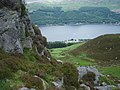 Looking down on the Ardtrostan Caravan site, Loch Earn - geograph.org.uk - 502345.jpg