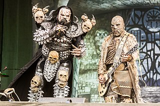 Lordi Finnish hard rock band
