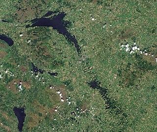Lough Erne lake in the United Kingdom