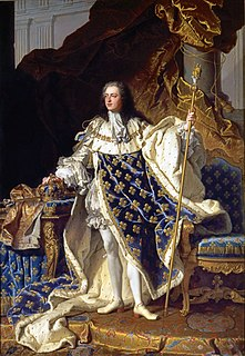 Louis XV King of France