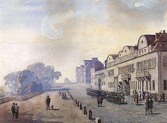 Kunsthochschule Kassel - First Place of the University in Schloss Bellevue