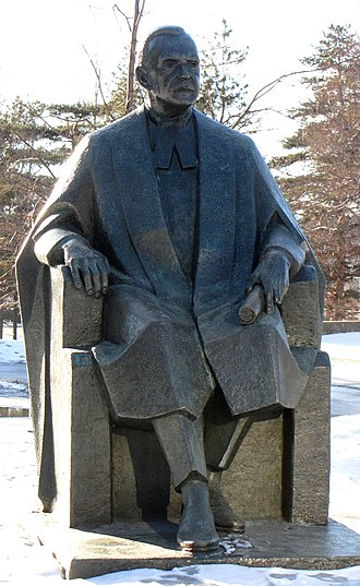 Louis St. Laurent - Statue on grounds of Supreme Court of Canada