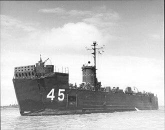 USS LSM-45 - Image: Lsm 45