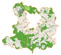 Lubin (gmina wiejska) location map.png