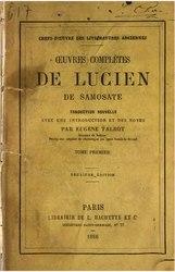 Œuvres complètes de Lucien de Samosate