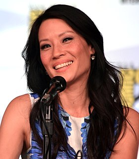 Liu at the 2012 San Diego Comic-Con