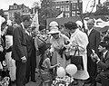 Lustrum Amsterdamse studenten, opening door prins Bernhard prins Bernhard , prin, Bestanddeelnr 914-0496.jpg