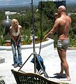 Lux Kassidy, Christian XXX at shoot Lux's Life 5.jpg