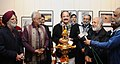 M. Venkaiah Naidu addressing at the inauguration of the 4th biannual photo exhibition of all India Working News Cameramen's association, in New Delhi.jpg