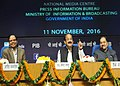 M. Venkaiah Naidu addressing the Economic Editors' Conference-2016, organised by the Press Information Bureau, in New Delhi (1).jpg