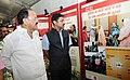 "M. Venkaiah Naidu visiting after inaugurating the ""Saath Hai Vishwaas Hai, Ho Raha Vikas Hai"" Exhibition of DAVP, at Sarojini Nagar, in New Delhi (2).jpg"
