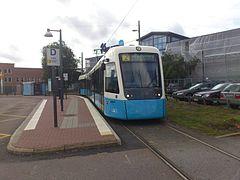 Sirio-sporvognen M32 med nr. 441 ved Lana i Göteborg