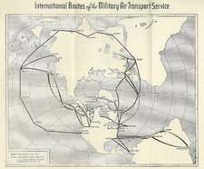 MATS International routes, 1948