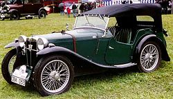 MG PB Midget 4-Seater Tourer 1935