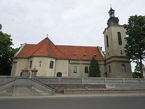 Modrze - Image: MODRZE gm.Stęszew 06 Kościół p.w. Świętego Idziego