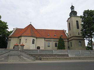 Modrze Village in Greater Poland, Poland