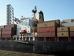 MSC LEVINA - IMO 8608200 - Callsign 3FJR8, Berendrechtsluis, Port of Antwerp pic6.JPG