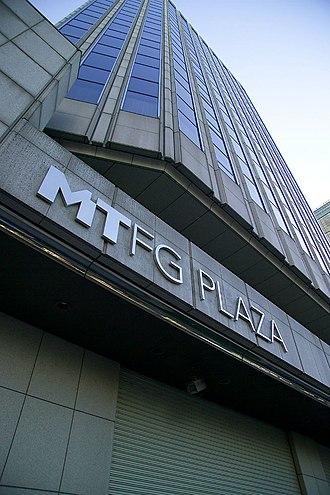 Mitsubishi UFJ Financial Group - MTFG Plaza is an office building of the Mitsubishi Tokyo Financial Group.