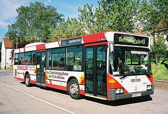 Upper Rhine Railway Company - OEG Bus in Weinheim