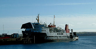 Caledonian MacBrayne - MV Hebridean Isles at Scrabster