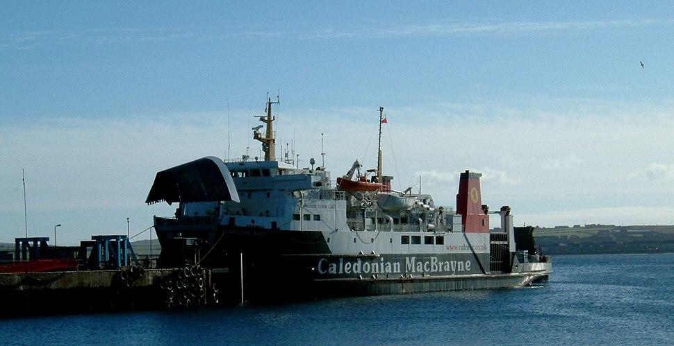 MV Hebridean Isles at Scrabster