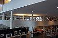 Maastricht, Centre Céramique, zicht op entreehal en cafetaria.JPG