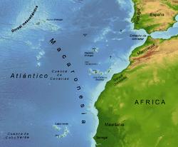 Islas en donde se distribuye el canario silvestre