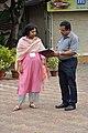 Madhuvanti Ghosh and Subhabrata Chaudhuri - Science City - Kolkata 2015-07-15 8469.JPG